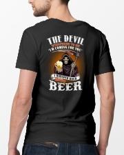 the devil beer Classic T-Shirt lifestyle-mens-crewneck-back-5