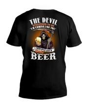 the devil beer V-Neck T-Shirt thumbnail