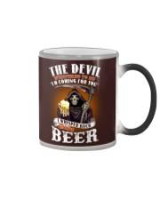 the devil beer Color Changing Mug thumbnail