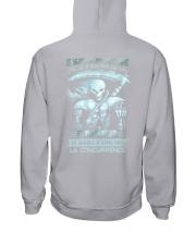 octobre skull enfer Hooded Sweatshirt thumbnail
