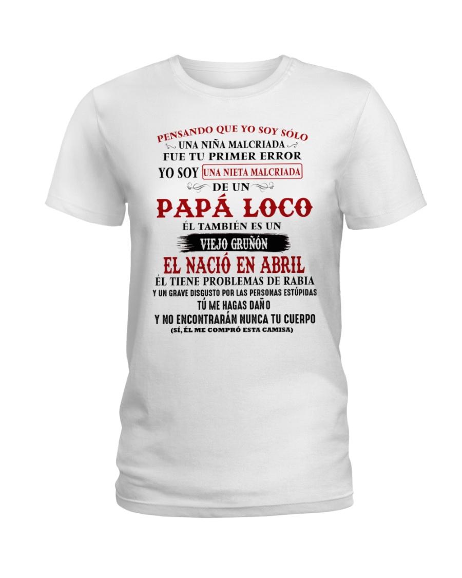 el tambien es un Viejo grunon abril Ladies T-Shirt