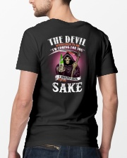 i whisper back bring sake Classic T-Shirt lifestyle-mens-crewneck-back-5