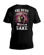 i whisper back bring sake V-Neck T-Shirt thumbnail