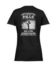 Elle Est Nee En 8 Ladies T-Shirt women-premium-crewneck-shirt-back