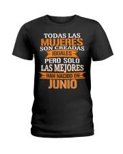 junio todas las Ladies T-Shirt front