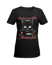 nees novenbre Ladies T-Shirt women-premium-crewneck-shirt-front