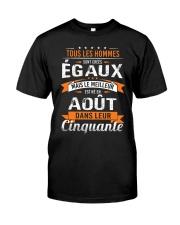 aout dans leur cinquante Classic T-Shirt front