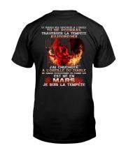 je suis la tempete mars Classic T-Shirt back