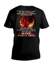 je suis la tempete mars V-Neck T-Shirt thumbnail