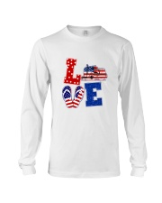 trucker love Long Sleeve Tee thumbnail