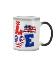 trucker love Color Changing Mug thumbnail
