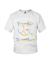 apparently were trouble Youth T-Shirt thumbnail