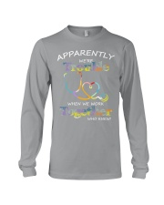 apparently were trouble Long Sleeve Tee thumbnail