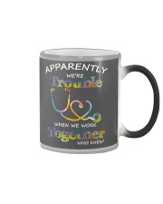 apparently were trouble Color Changing Mug thumbnail