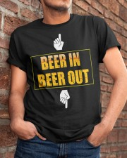 beer in beer out Classic T-Shirt apparel-classic-tshirt-lifestyle-26