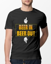 beer in beer out Classic T-Shirt lifestyle-mens-crewneck-front-13