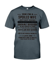 spoiled wife october Classic T-Shirt thumbnail