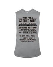 spoiled wife october Sleeveless Tee thumbnail