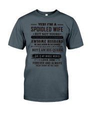 yes i'm a spoiled wife december Classic T-Shirt thumbnail