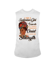 september strength girl Sleeveless Tee thumbnail