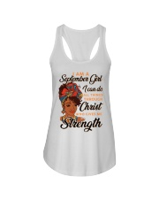 september strength girl Ladies Flowy Tank thumbnail