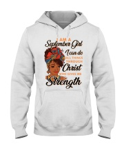 september strength girl Hooded Sweatshirt thumbnail