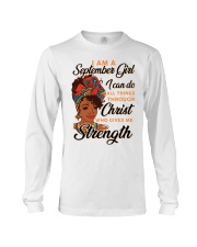 september strength girl Long Sleeve Tee thumbnail