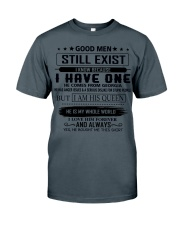 good men still exist comes from georgia Classic T-Shirt thumbnail