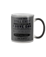 good men still exist comes from georgia Color Changing Mug tile