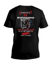 je suis ne en 74 V-Neck T-Shirt thumbnail