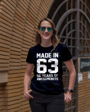 made in 63 Ladies T-Shirt lifestyle-women-crewneck-front-2