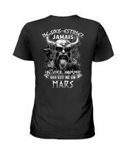 mars jamais Ladies T-Shirt tile