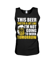 this beer Unisex Tank thumbnail