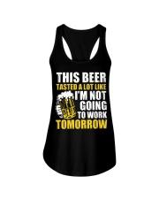 this beer Ladies Flowy Tank thumbnail