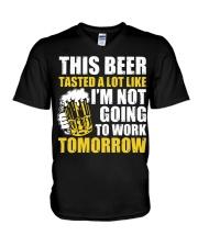 this beer V-Neck T-Shirt thumbnail