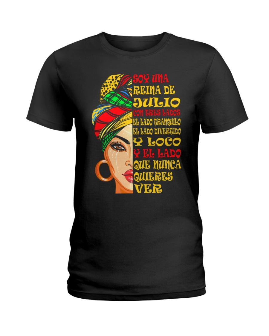 julio con tres lados Ladies T-Shirt