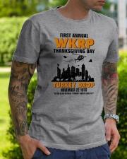 turkey drop Classic T-Shirt lifestyle-mens-crewneck-front-7