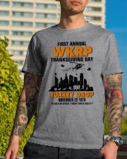 turkey drop Classic T-Shirt lifestyle-mens-crewneck-front-8