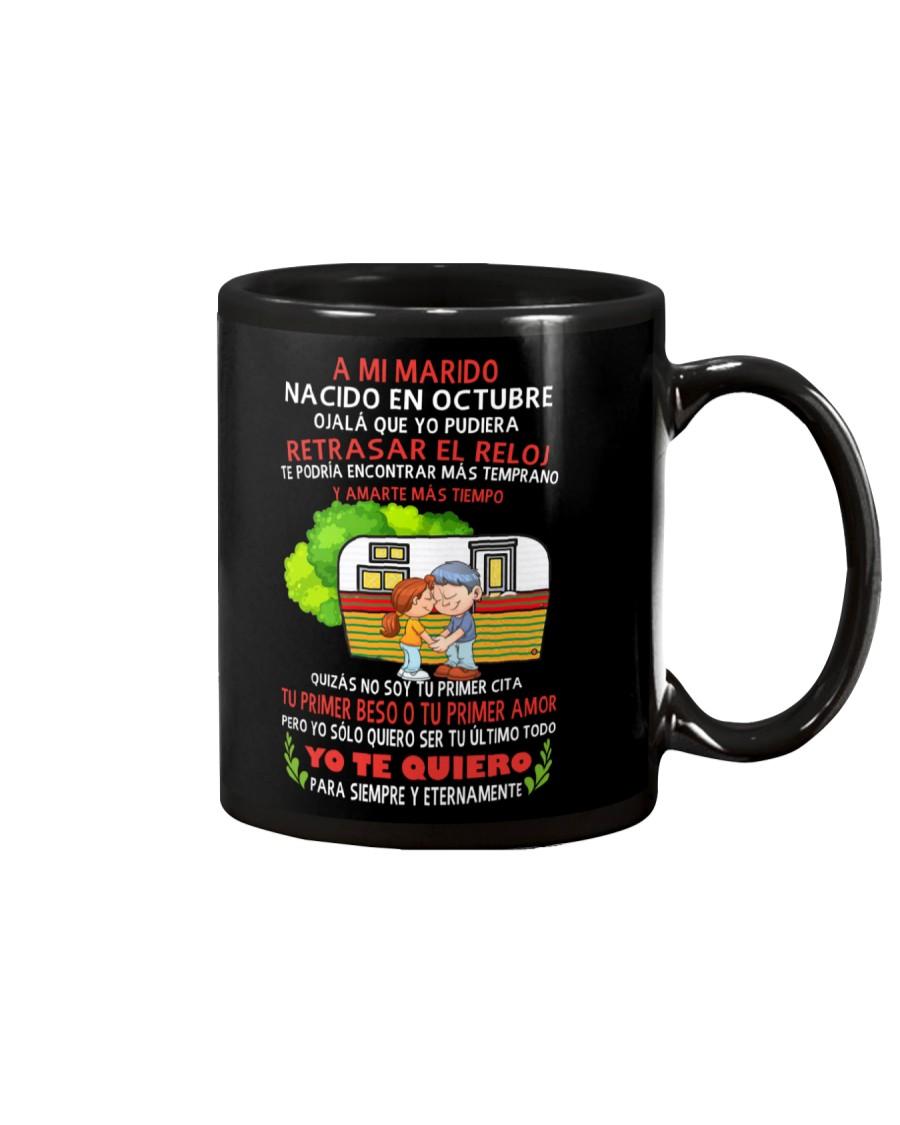octubre reloj Mug