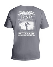 august awesome dad V-Neck T-Shirt thumbnail
