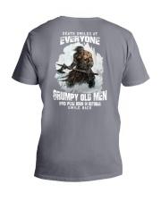 death smiles at everyone grumpy old men october V-Neck T-Shirt thumbnail