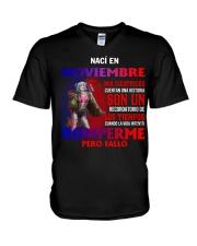 naci en 11 V-Neck T-Shirt thumbnail