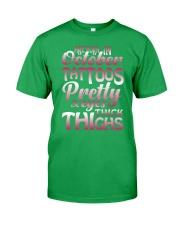 10-tattoo-betty Classic T-Shirt front