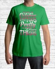 10-tattoo-betty Classic T-Shirt lifestyle-mens-crewneck-front-1