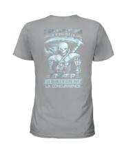 fevrier skull enfer Ladies T-Shirt thumbnail