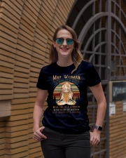 may woman Ladies T-Shirt lifestyle-women-crewneck-front-2