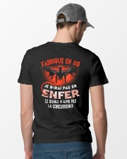 je n'irai pas en 80 Classic T-Shirt lifestyle-mens-crewneck-back-6