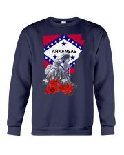 Arkansas Veteran Day Crewneck Sweatshirt thumbnail
