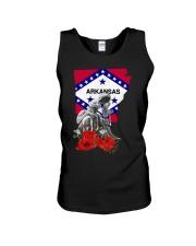 Arkansas Veteran Day Unisex Tank thumbnail