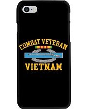 Combat Veteran Vietnam-CIB Phone Case tile
